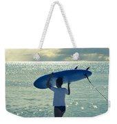 Surfer Girl Weekender Tote Bag