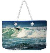 Surfing Asilomar Two Weekender Tote Bag