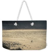 Surfing At Leo Carrillo Beach Weekender Tote Bag