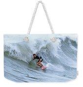 Surfing Bogue Banks 3 Weekender Tote Bag