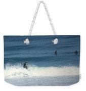 Surfing Carmel Beach Two Weekender Tote Bag
