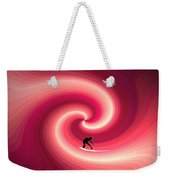 Surfing In The Sunset Two Weekender Tote Bag