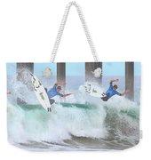 Surfing Sequence Weekender Tote Bag