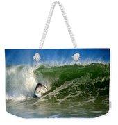 Surfing The Winter Atlantic Weekender Tote Bag