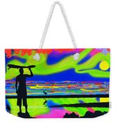 Surfscape Dreaming Weekender Tote Bag