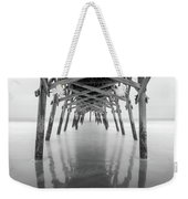 Surfside Pier Exposure Weekender Tote Bag