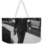 Surgeon General Walks To Work Weekender Tote Bag