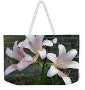 Surprise Lilies Weekender Tote Bag