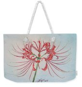 Surprise Lily Weekender Tote Bag