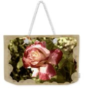 Surprise Rose Weekender Tote Bag