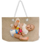 Surprised Baby Weekender Tote Bag