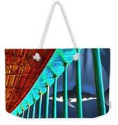 Surreal Bridge Shark Cage Weekender Tote Bag