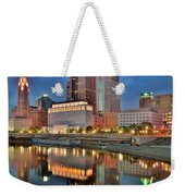 Surreal Columbus Ohio Weekender Tote Bag