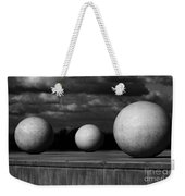 Surreal Globes Weekender Tote Bag
