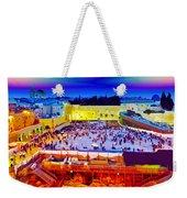 Surreal Jerusalem Art Weekender Tote Bag