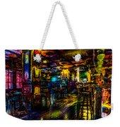 Surreal Old West Bar  Weekender Tote Bag
