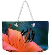 Surreal Orange Lily Weekender Tote Bag