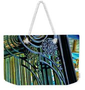 Surreal Reflection And Wrought Iron Weekender Tote Bag