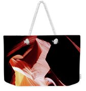 Surreal Shapes In Form And Time Weekender Tote Bag