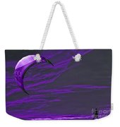 Surreal Surfing Purple Weekender Tote Bag