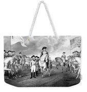 Surrender Of Lord Cornwallis At Yorktown Weekender Tote Bag