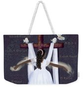 Surrender To Jesus Weekender Tote Bag