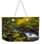 Surrounded By Fall Color Weekender Tote Bag