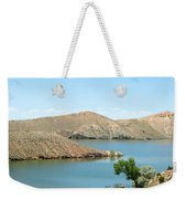 Surrounded By Mountains Weekender Tote Bag
