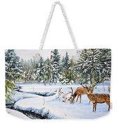 Surviving The Winters Weekender Tote Bag