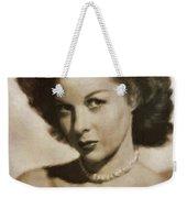 Susan Hayward By Mb Weekender Tote Bag