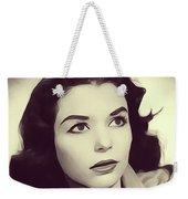 Susan Strasberg, Vintage Actress Weekender Tote Bag