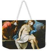Susanna And The Elders Weekender Tote Bag