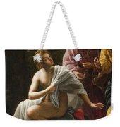 Susanna And The Elders Weekender Tote Bag by Ottavio Mario Leoni