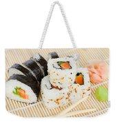 Sushi Weekender Tote Bag