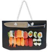 Sushi And Knife Weekender Tote Bag