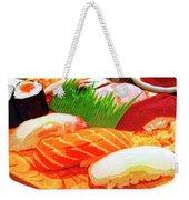 Sushi Plate 1 Weekender Tote Bag