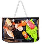 Sushi Plate 2 Weekender Tote Bag