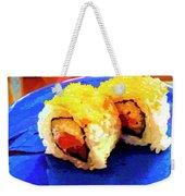 Sushi Plate 3 Weekender Tote Bag