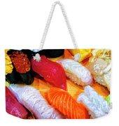 Sushi Plate 4 Weekender Tote Bag