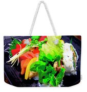 Sushi Plate 5 Weekender Tote Bag