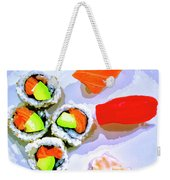 Sushi Plate 6 Weekender Tote Bag