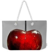 Suspended Cherry Weekender Tote Bag