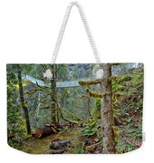 Suspended In The Rain Forest Weekender Tote Bag