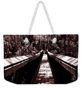 Suspension Bridge Weekender Tote Bag