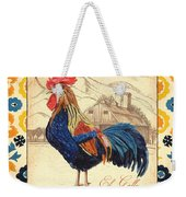 Suzani Rooster 1 Weekender Tote Bag