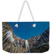 Svartifoss Waterfall, Iceland Black Weekender Tote Bag
