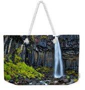 Svartifoss Waterfall - Iceland Weekender Tote Bag