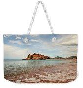 Sveti Stefan Beach Weekender Tote Bag