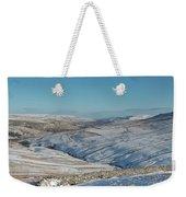 Swaledale In Winter Weekender Tote Bag