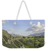 Swallow Bay Cliffs Weekender Tote Bag